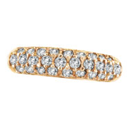 14K Rose Gold .81ct Diamond Fashion Ring