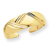 14k Fancy Toe Ring