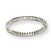 14k White Gold AA Diamond Eternity Band ring