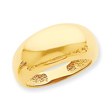 14K Gold Polished Classic Dome Ring