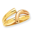 14K Two-Tone Gold Fancy Ring