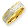 14k Two-Tone Gold New Fancy Band